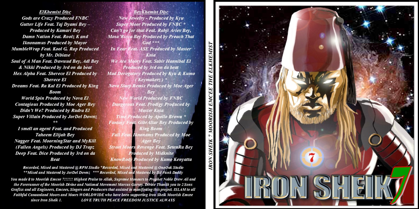 Iron Sheik 7 Moorish Emcee The ElKhemist